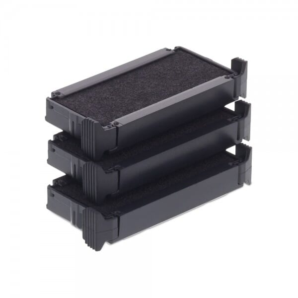 Trodat Replacement Ink Cartridge 6/4911 Textile Ink - pack of 3