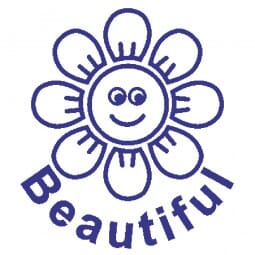 Teachers' Motivation Stamp - Beautiful Flower