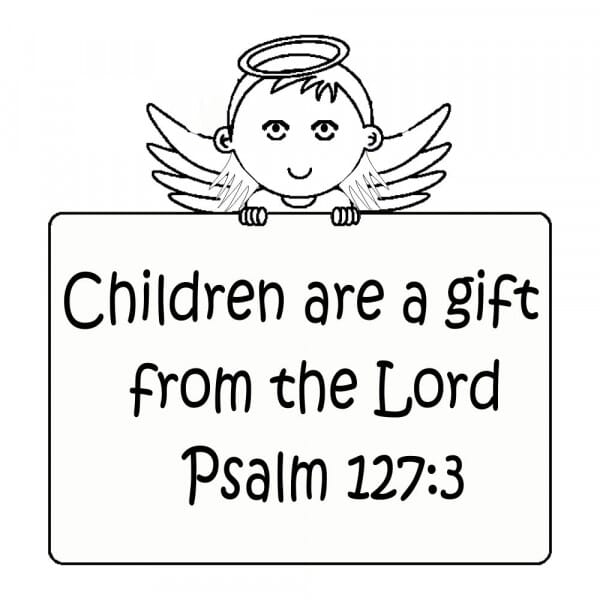 Craft Stamp - Children Are A Gift