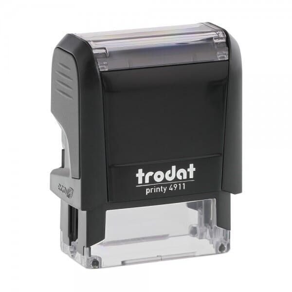 Trodat Printy 4911 - S-Printy - Stock Stamp - I.D. PROTECTION