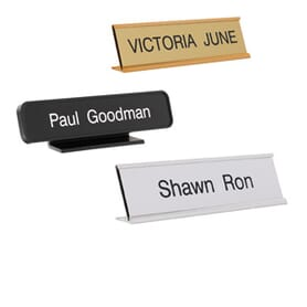 Personalised Desk Signs