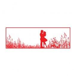 Trodat Printy 4911 - S-Printy - Stock Stamp - Couple silhouette