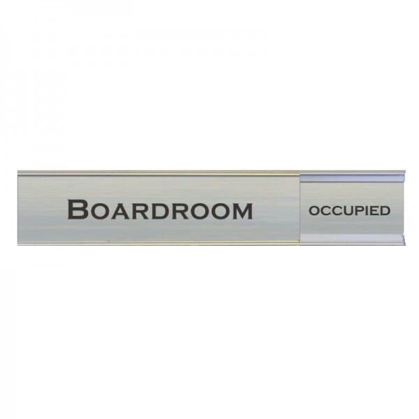"Slider Boardroom Sign 2"" x 13"""