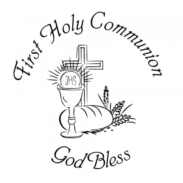 Craft Stamp - First Holy Communion