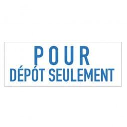 Trodat Printy 4911 - S-Printy - Stock Stamp - POUR DÉPÔT SEULEMENT