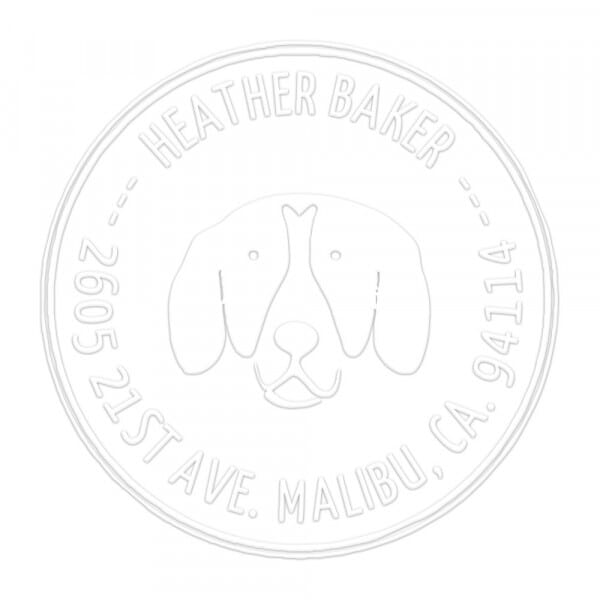 Man's Best Friend Round Monogram Seal