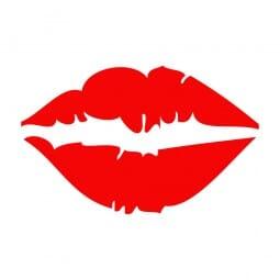 Trodat Printy 4921 - S-Printy - Stock Stamp - Valentine- Lips