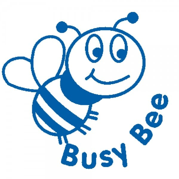 Teachers' Motivation Stamp - Busy Bee