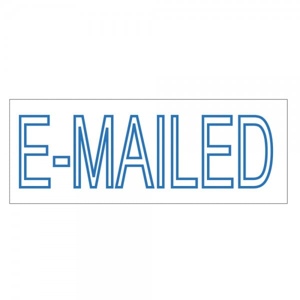 Trodat Printy 4911 Tampon formule - E-MAILED