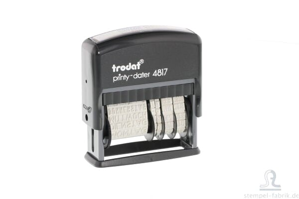 Trodat Printy Dater 4817 English