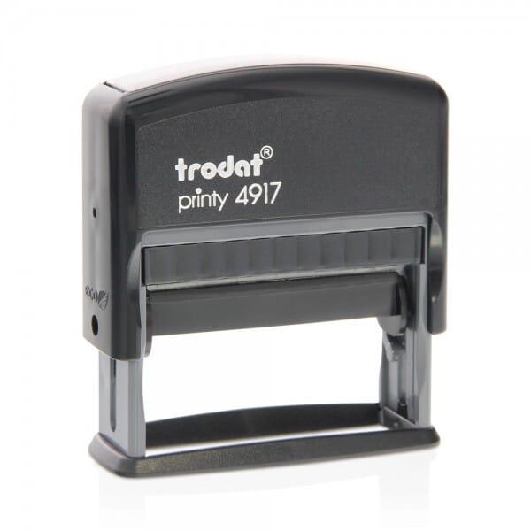"Trodat Printy 4917 3/8"" x 2"" - 2 lines"