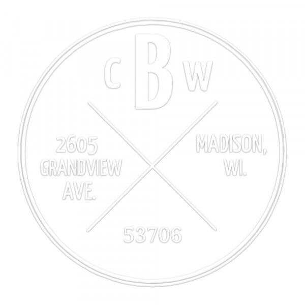 Four Corners Round Monogram Seal