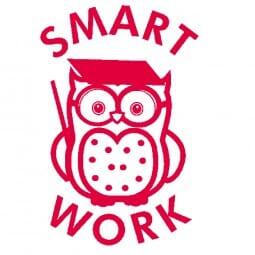 Teachers' Motivation Stamp - Smart Work Owl