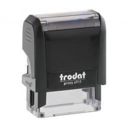 Trodat Printy 4911 - S-Printy - Stock Stamp - I heart you