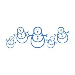Trodat Printy 4911 - S-Printy - Stock Stamp - Snowman