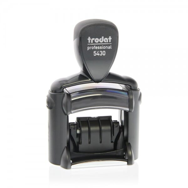 Trodat Professional 5430/L with 6 interchangeable dies - English