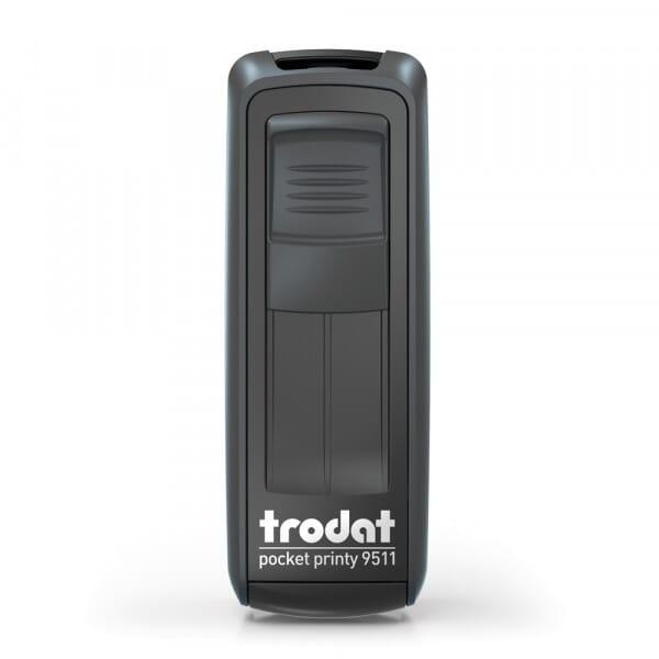 Trodat Pocket Printy 9511 9/16 x 1-1/2'' - 3 lignes