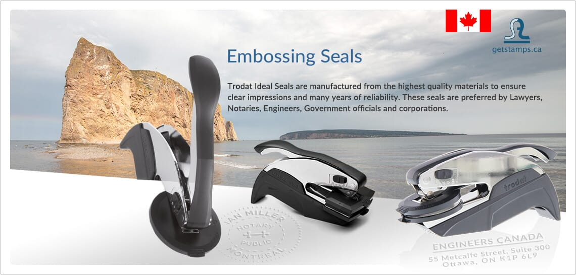 seals and embossing presses