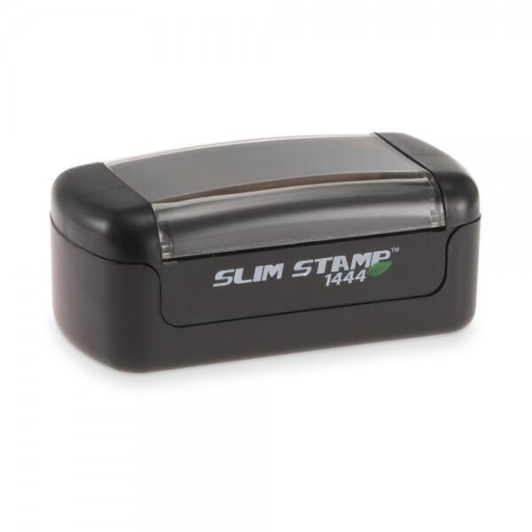 "Slim Stamp 1444 11/16"" x 1-15/16"" - up to 3 lines"