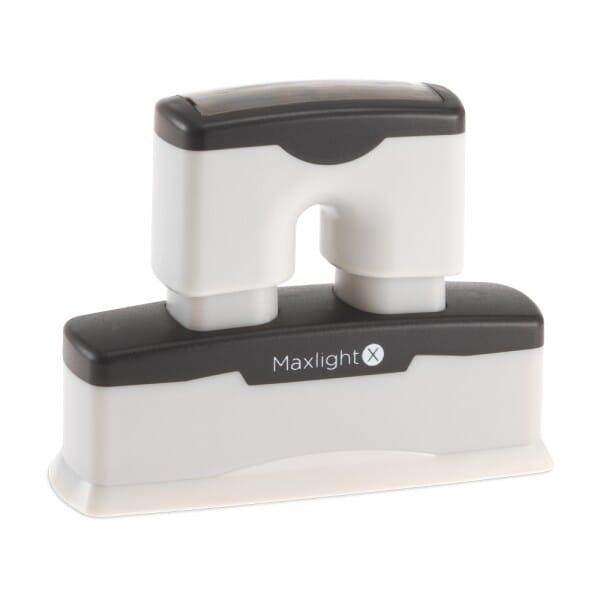 Tampon MaxLight X5 (3/8po x 29/16po - 1 ou 2 lignes)