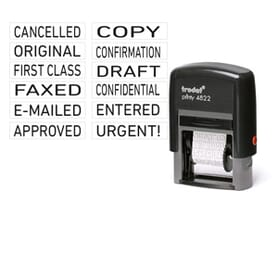Printy Text, Word & Phrase Stamps