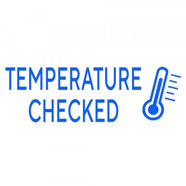 "4911 COVID Stock Message: ""TEMP CHECKED"""