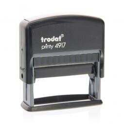 Trodat Printy 4917 3/8 x 2'' - 2 lignes
