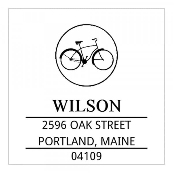 Monogram stamp squared - No  1