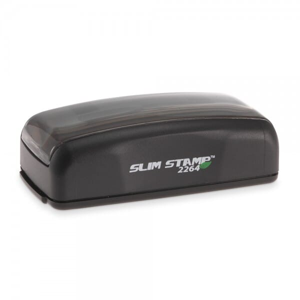 """Slim Stamp 2264 1"""" x 2-5/8"""" - up to 6 lines"""