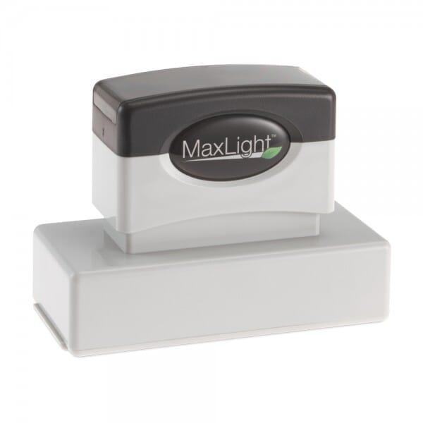 Tampon MaxLight XL2-185 1-(11/16po x 27/8po - jusqu'à 5 lignes)