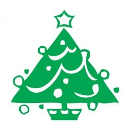 Trodat Printy 4921 - S-Printy - Stock Stamp - Christmas- Tree