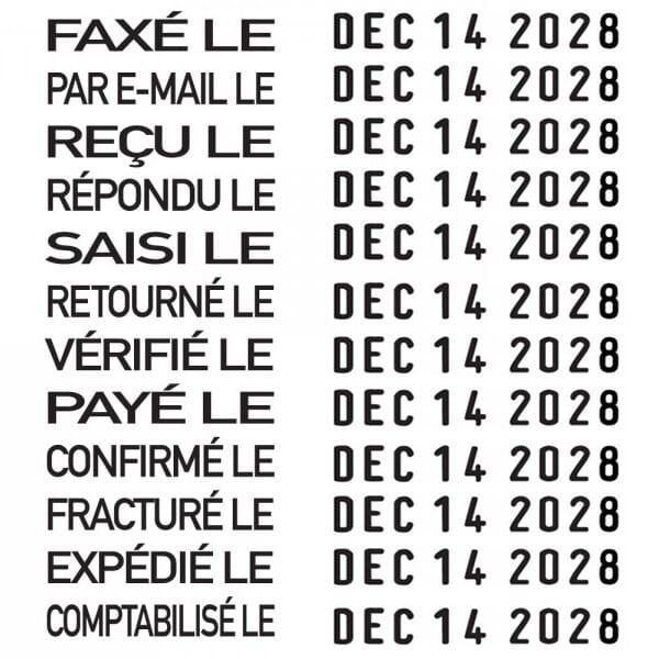 Trodat Printy dateur multiformules 4817 Français