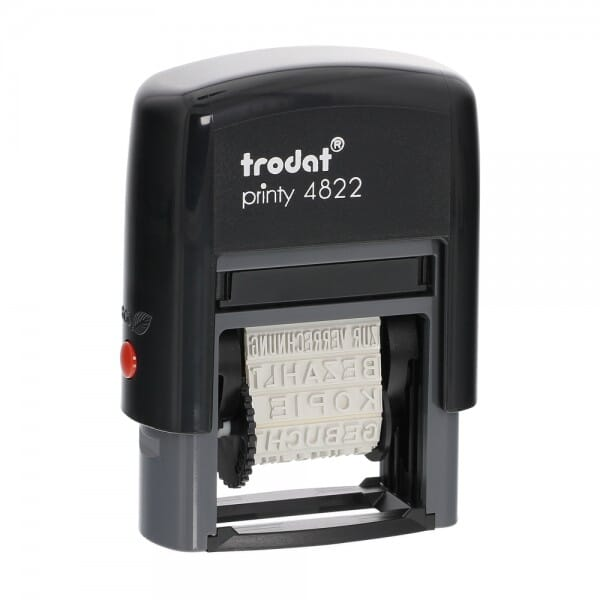 Trodat Printy 4822 Multi Word Stamp English
