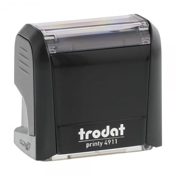 Trodat Printy 4911 - S-Printy - Stock Stamp - SCANNED