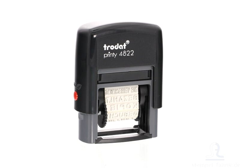 Trodat Printy 4822 Multi Word Stamp French