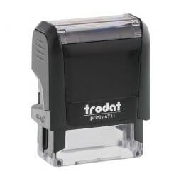 Trodat Printy 4911 - S-Printy - Stock Stamp - Carved by:
