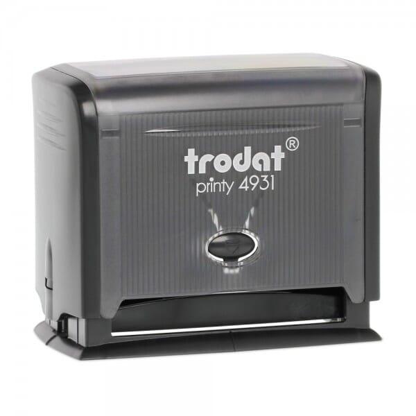 "Trodat Printy 4931 1-1/8"" x 2-3/4"" - 7 lines"