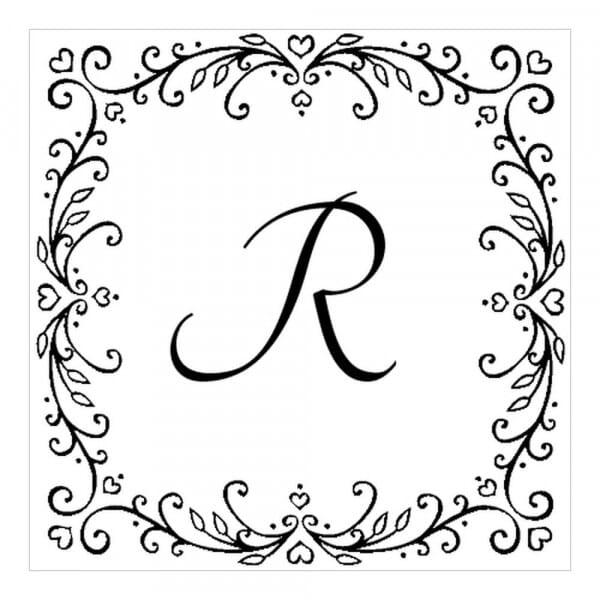 Monogram stamp squared - No  51