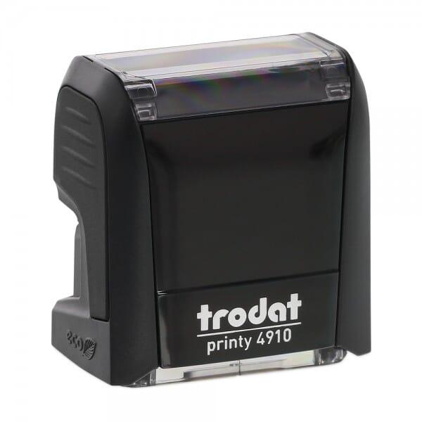 "Trodat Printy 4910 3/8"" x 1"" - 2 lines"