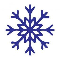 Trodat Printy 4921 - S-Printy - Stock Stamp - Christmas- Snowflake