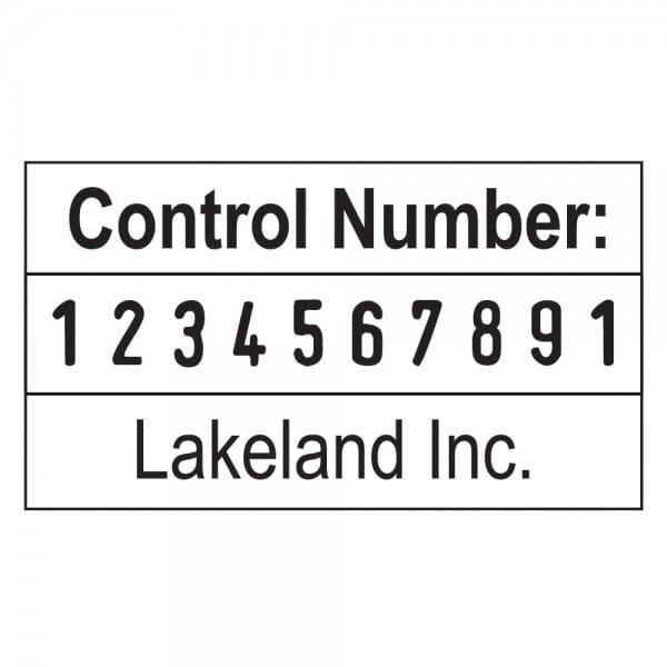 Trodat Professional numéroteur 55510PL - 10 bandes - 2 + 2 lignes