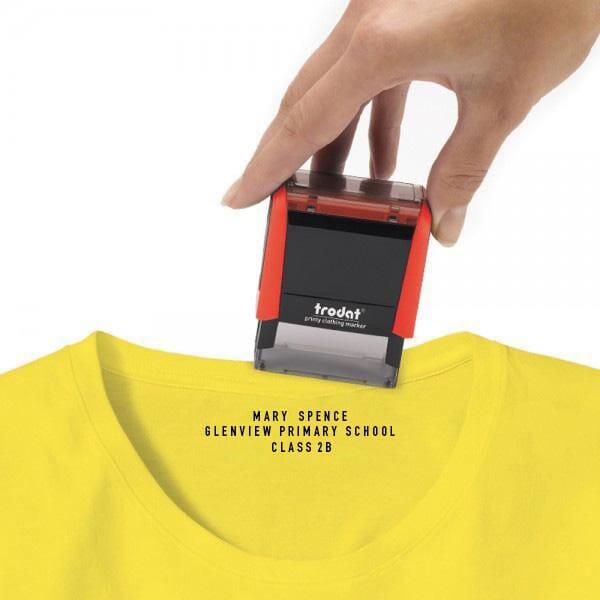 Trodat Printy Marqueur de vêtements Typomatic