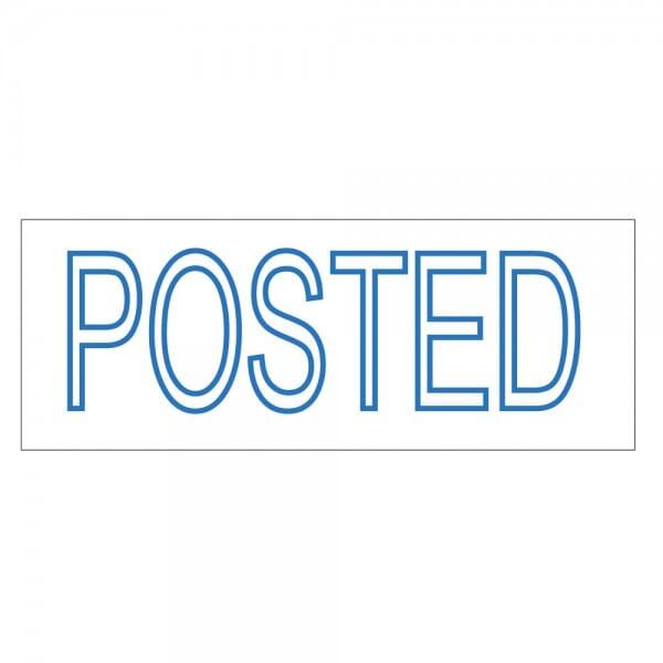 Trodat Printy 4911 - S-Printy - Stock Stamp - POSTED