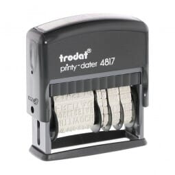 Trodat Printy Dater 4817 French
