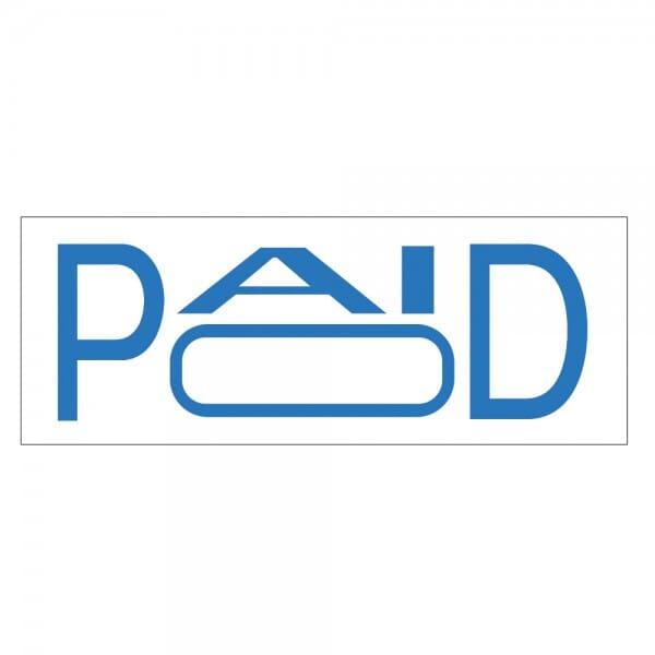 Trodat Printy 4911 - S-Printy - Stock Stamp - PAID (box)